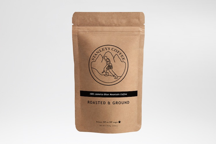 100% Jamaica Blue Mountain Coffee 4oz Roasted and Ground